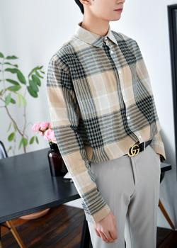 [SE.92] 감성룩 데일리한 멀티 체크 셔츠