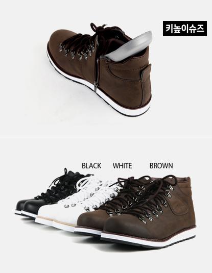[S3][Shoes448] 레더 트레킹 워커 슈즈